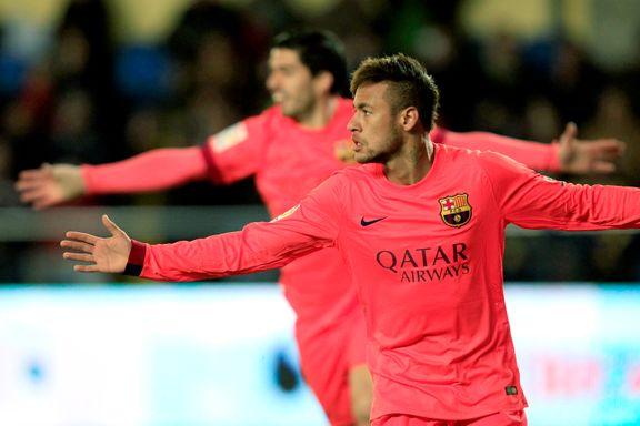 Neymar sendte Barcelona til finale