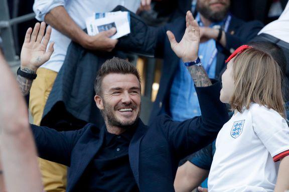 England slo Norge og gikk videre, men Beckham fikk oppmerksomheten