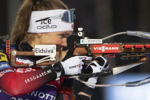 Karoline Knotten (25) med sensasjonell norsk pallplass i verdenscupen