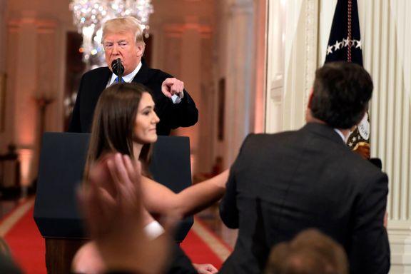 Foreløpig kjennelse i CNN-søksmål mot Trump utsatt til fredag