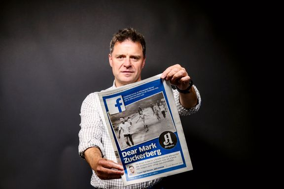 Aftenpostens sjefredaktør Espen Egil Hansen hedret for sin kamp mot Facebook