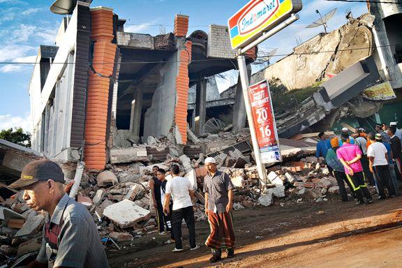 Over 97 døde etter jordskjelv i Indonesia
