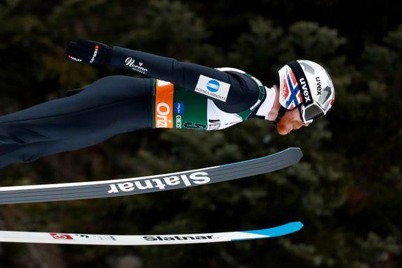 Beste nordmann på femteplass i skiflyging