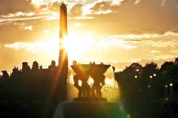 Oslo Kulturnatt byr på lysshow i Vigelandsparken