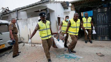 Politiet på Sri Lanka aksjonerte mot hus: 16 drept, blant dem barn og terrormistenkte