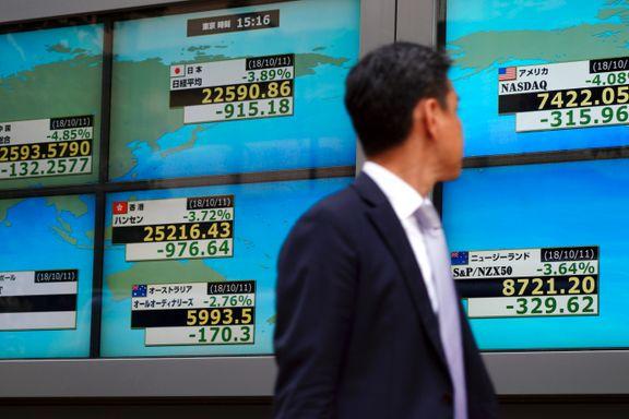 Nedgang på Asia-børsene