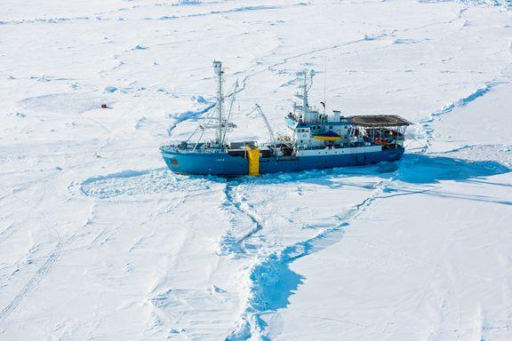 Polfarerne nådde skipet i natt: – Den vanskeligste turen jeg har gjort
