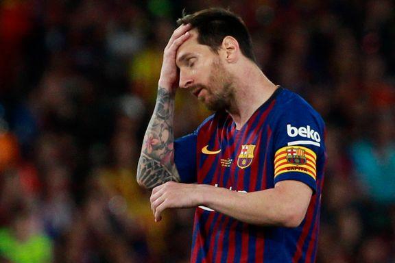 Cupmareritt for Barcelona. Valencia knuste Messis dobbeltdrøm.