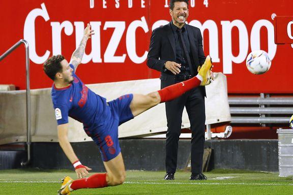 Simeone skjelver etter tap - håpet tent for Messi & co