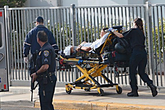 To drept og tre skadet i skyting på skole i California. Politiet fant skytteren (16) blant ofrene på sykehuset.