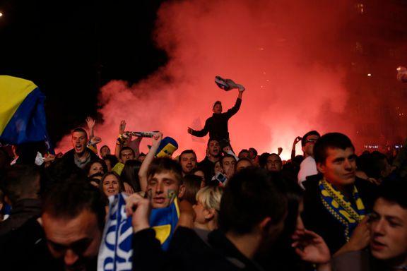 Her går Bosnia-fansen av hengslene