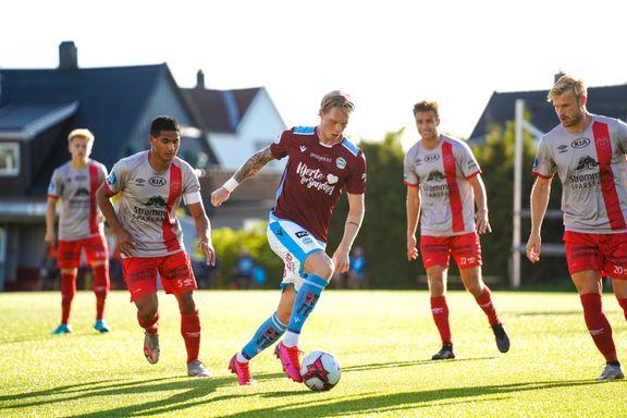 Sandnes Ulf-kollaps mot bunnlaget – slapp inn fire mål
