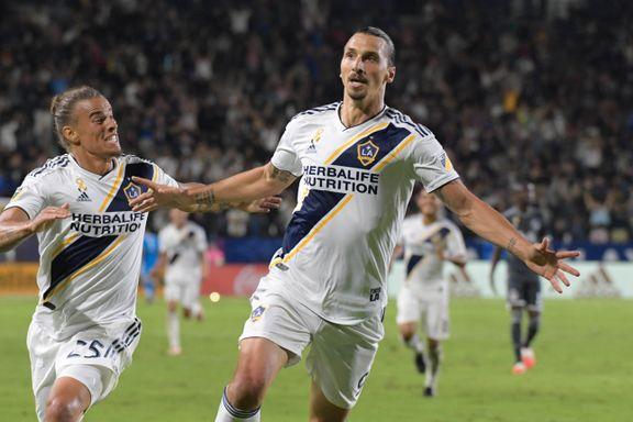 To nye mål for Zlatan i Galaxy-seier