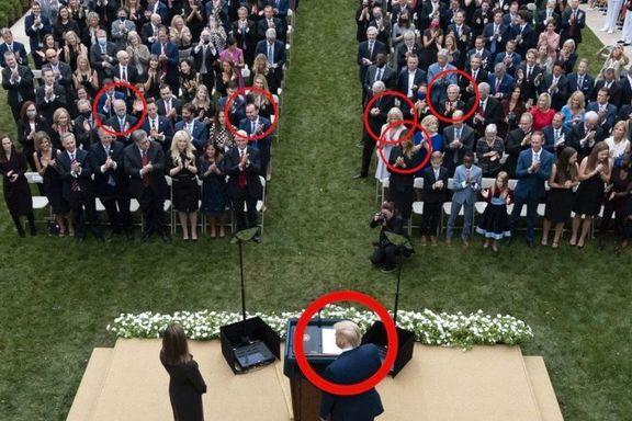 Minst seks av de smittede var på samme seremoni