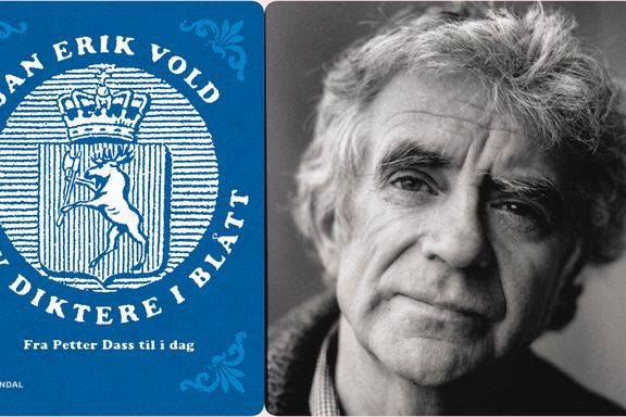 Jan Erik Vold er en av Norges tre kandidater til Nobelprisen i litteratur