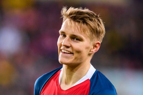 Da Ødegaard skulle signere kontrakt, var han opptatt av én ting. Det forteller mye om supertalentet.