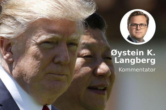 Trump var den store Kina-refseren. Nå risikerer han å fremstå som veik.