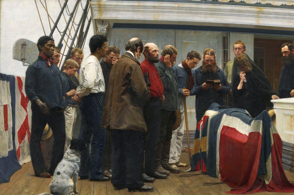 Få har sett dette maleriet før. Nå får det plass blant mesterverkene i norsk kunsthistorie.