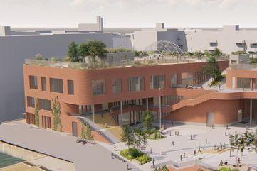 Når denne skolen åpner, vil noen av Oslos rikeste og fattigste barn gå sammen