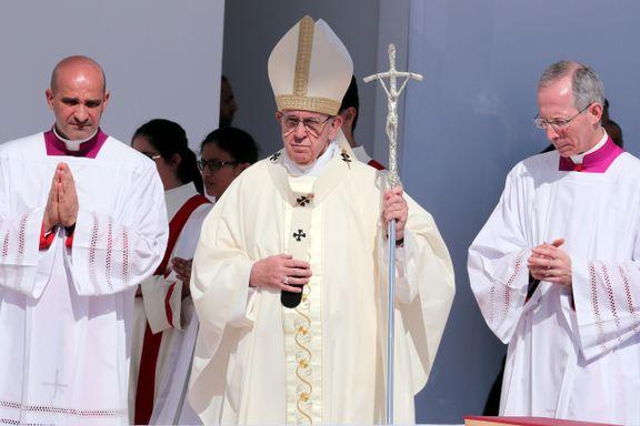Paven innrømmer at nonner ble brukt som sexslaver
