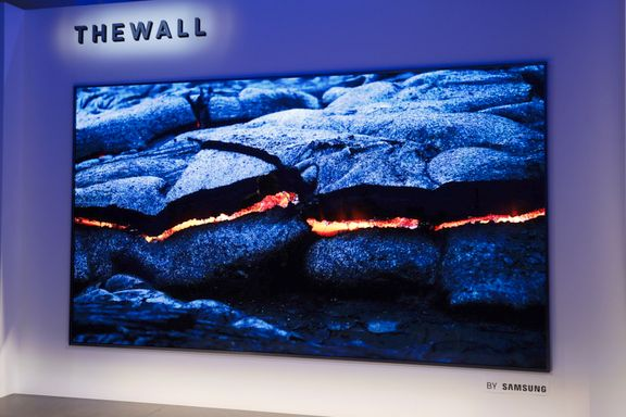 Bygg din egen TV - Verdens første modulære TV er stor som en vegg.
