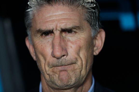 Argentina-sjefen ferdig etter kun åtte måneder