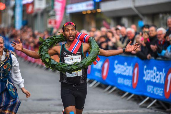Vant sitt første maraton i Tromsø