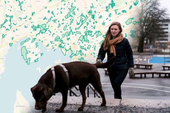 «Hæ, grønt her?» Jobben med å spore opp Oslos friluftsområder ga Gunnhild Laxaa en a-ha-opplevelse.