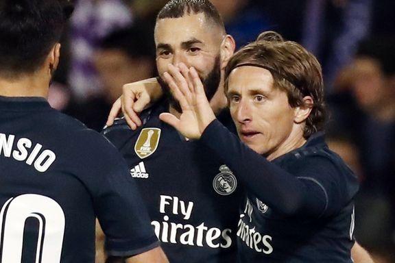 Real Madrid slo tilbake etter mesterligafiaskoen