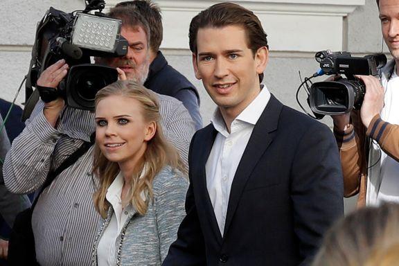 31-åring vinner valget i Østerrike. Ytre høyre får 26 prosent.