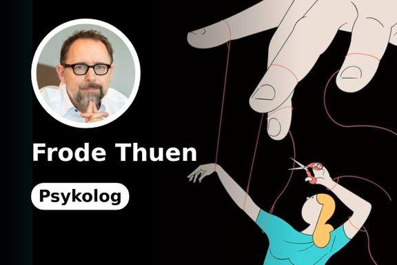 Klar melding fra Thuen til innsender: – Du bør ut av dette forholdet
