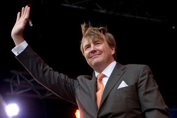 Nederlands konge sitter regelmessig bak spakene på KLMs rutefly