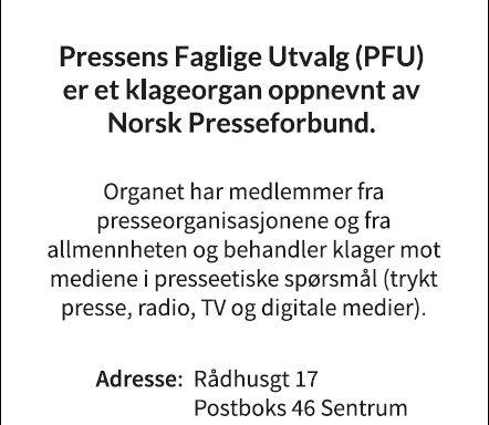 PFU: Ikke presseetisk brudd å omtale Høeghs bruk av skatteparadis