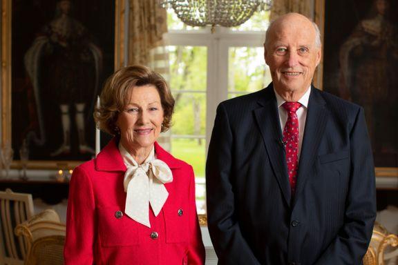 Kongefamilien legger årets 17. mai-lunsj til Bygdøy kongsgård