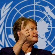 Brundtland slo klokt tilbake mot ros
