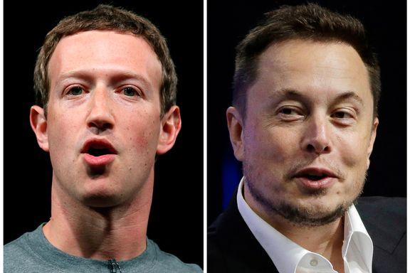 Facebook-sjefen og Tesla-toppen «krangler» om kunstig intelligens