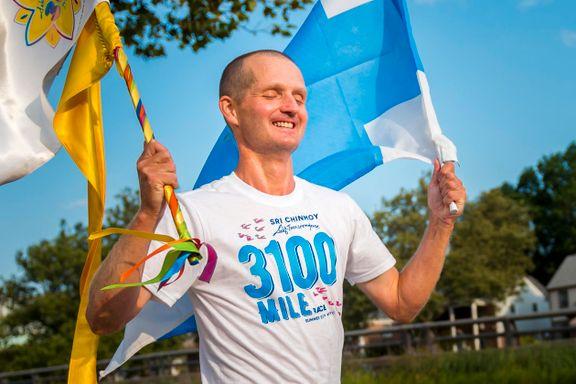 Postmann løp 120 maraton på 40 dager: – Noen kaller meg gal