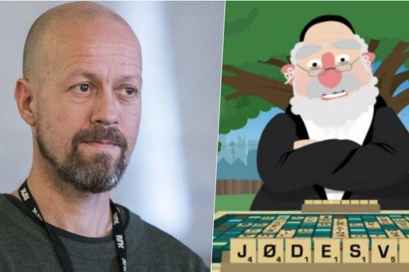 Fikk hundrevis av klager på «Scrabble-sketsj». I dag ble den fjernet. Derfor tok det NRK ti dager å beklage.