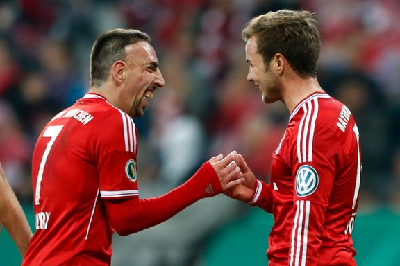 Bayern enkelt til cupfinalen