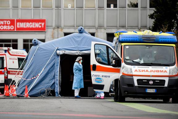 Folkehelseinstituttet bekymret over dødelighetstall i Italia