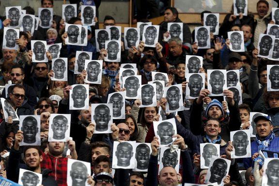Slik hedret Napoli-fansen rasismehetset spiller