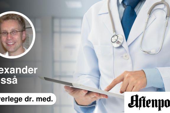 Aftenposten er unyansert om todeling i kreftomsorgen | Alexander Fosså