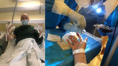 Her ligger Andreas (30) nyoperert i utlandet – nå vil norske leger ha han hjem til Tromsø