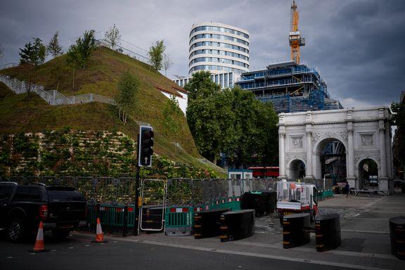 Fiasko for Londons nye severdighet, en haug til 35 millioner kroner