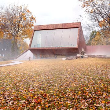 Slik ser Snøhetta for seg at det nye Kon-Tiki Museet kan bli