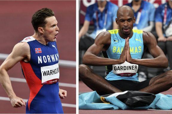 OL-vinneren «vraker» gullduell mot Warholm