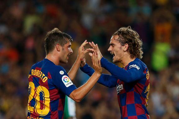 Griezmann og Barcelona reiste seg etter marerittstart