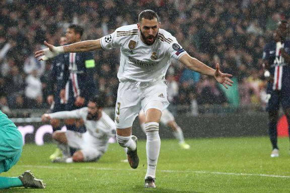 Real Madrid ledet med to mål i gigantoppgjøret. Så våknet gjestene.