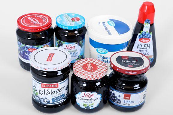 Test av blåbærsyltetøy: Mest bær i vinnerne
