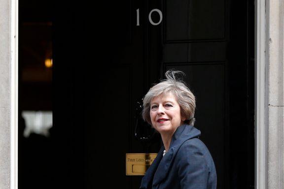 Theresa May ligner litt på Thatcher, men det er utenpå   Per Edgar Kokkvold